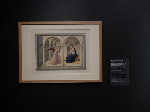 DSCN2641 - Copy of The Annunciation by Fra Angelico, Cesare Mariannecci, The Pre-Raphaelites & the Old Masters
