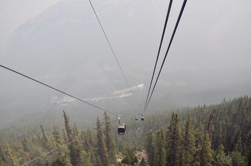 View from the Sulphur Mountain Gondola