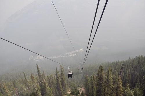 View from the Sulphur Mountain Gondola