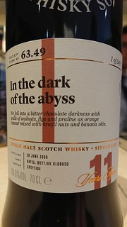 SMWS 63.49 - In the dark of the abyss