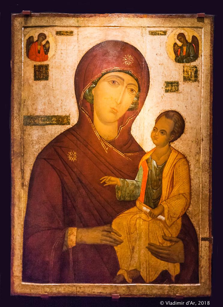 Икона Богоматери из села Ободова