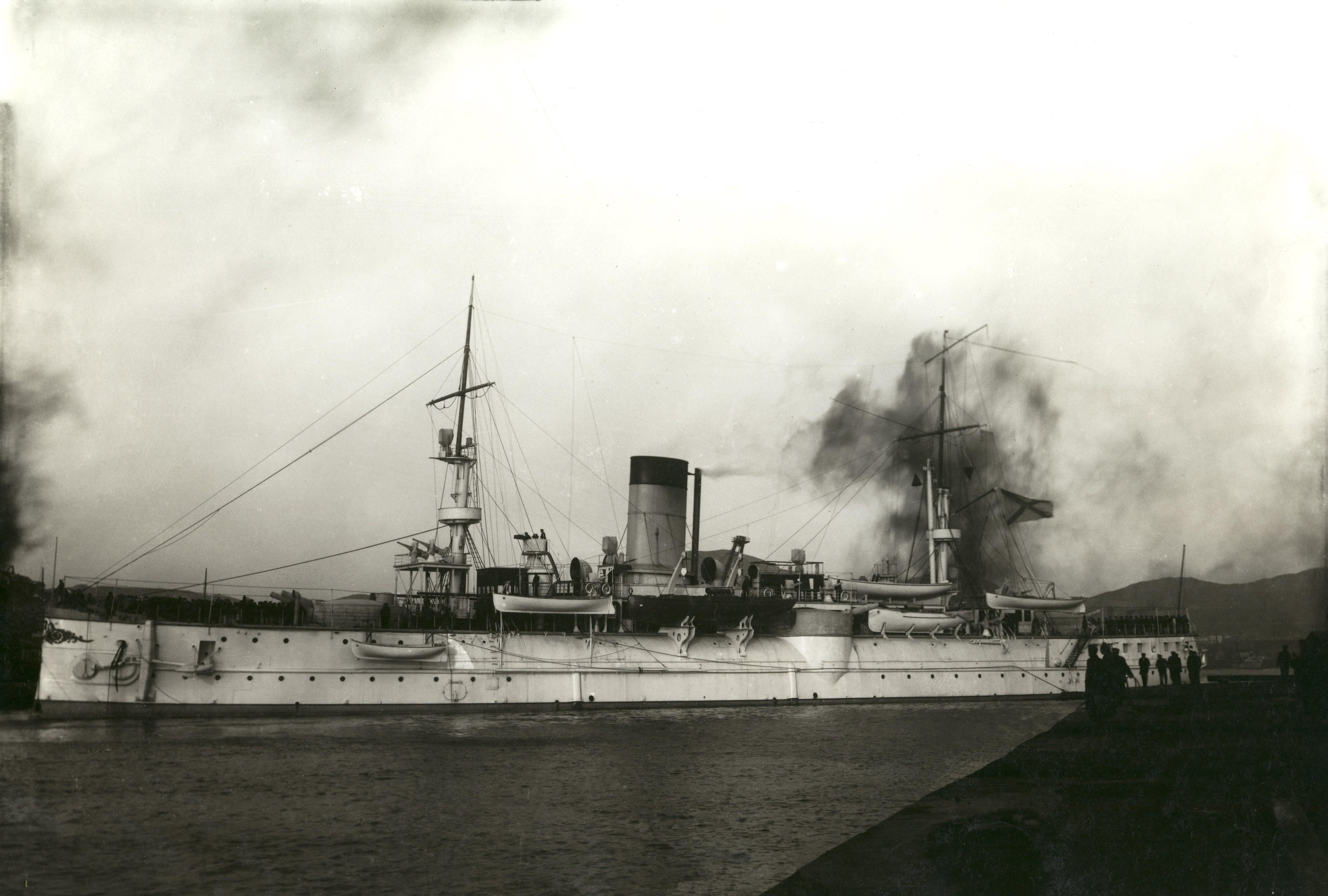 Крейсер «Адмирал Нахимов» в Восточном бассейне