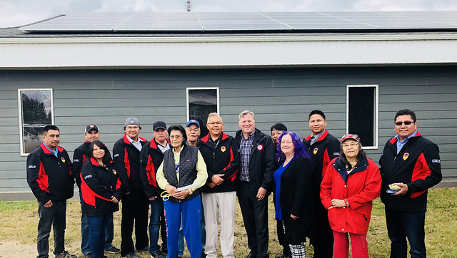 Little Red River Cree Nation goes green