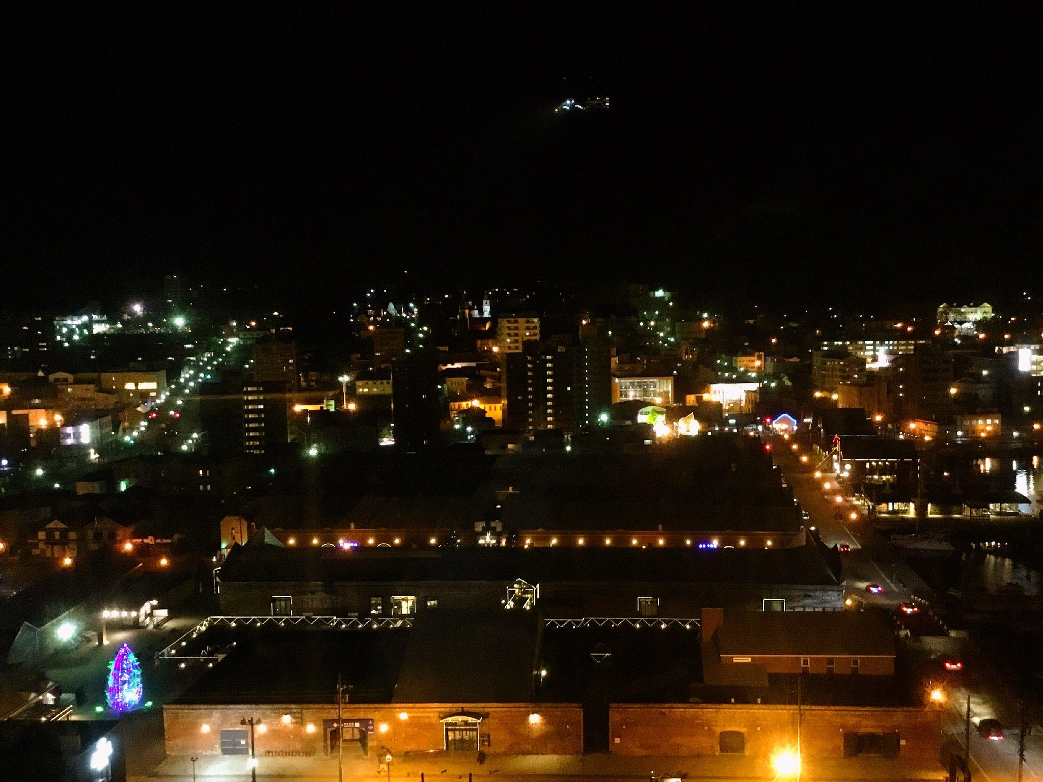 函館 ホテル ラビスタ函館ベイ7階客室から見た金森赤レンガ倉庫の夜景 7FC8DC47-06B8-40D5-B036-7CC271E44DFE