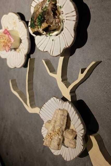 八寸「目黒川と桜」
