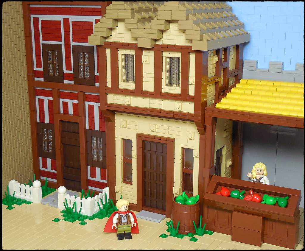 LEGO® MOC by Vitreolum: Quest for Glory – Spielburg – Dry Goods
