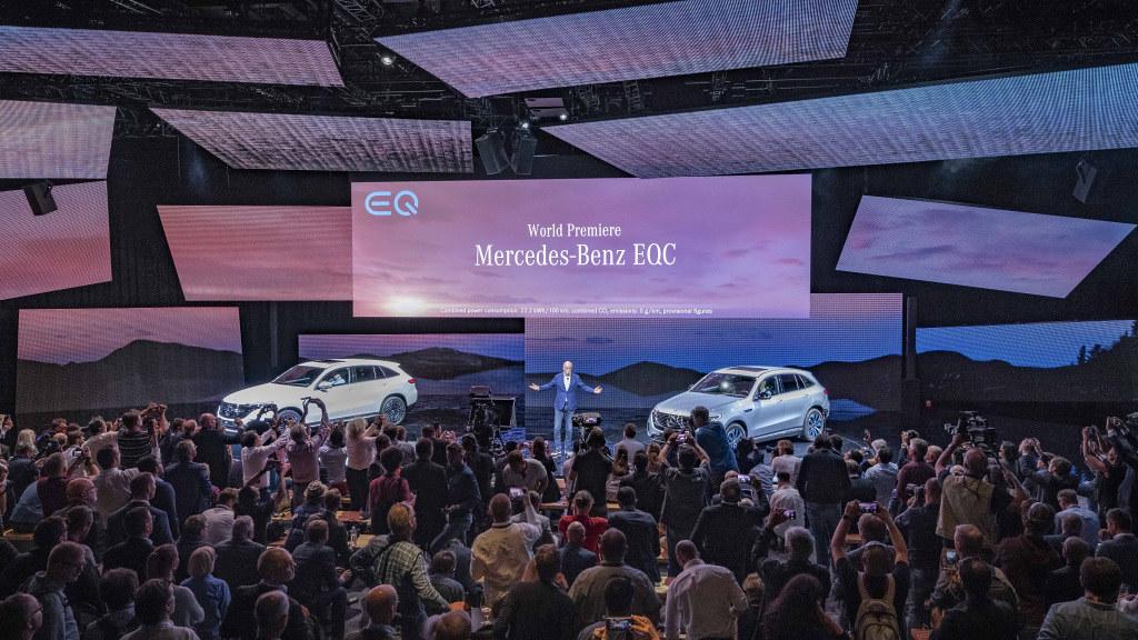 Mercedes EQC Premiera 30