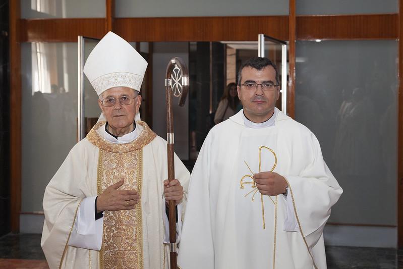 5-9-2018 - Nombramiento Fernando Bogónez como  Rector Seminario Valladolid