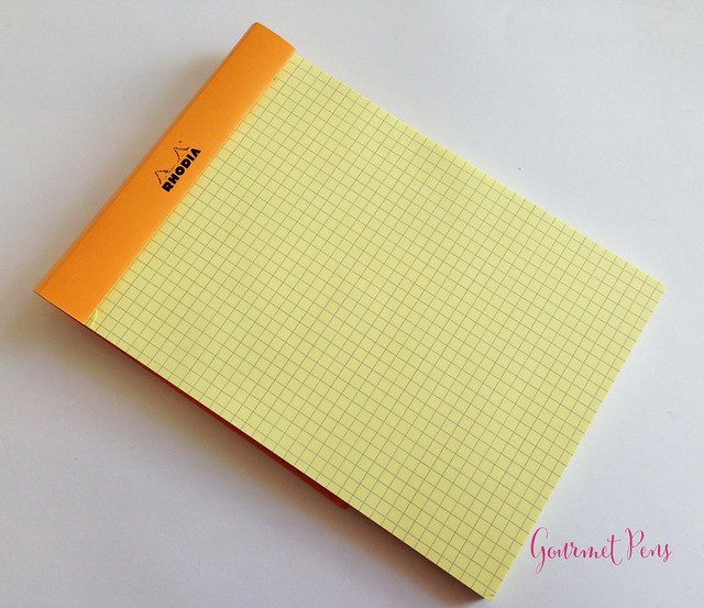 Rhodia No. 16 Yellow Notepad @exaclair @exaclairlimited 2