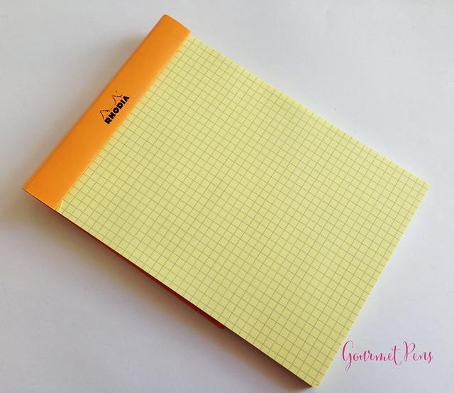 Rhodia No. 16 Yellow Notepad @exaclair @exaclairlimited 2