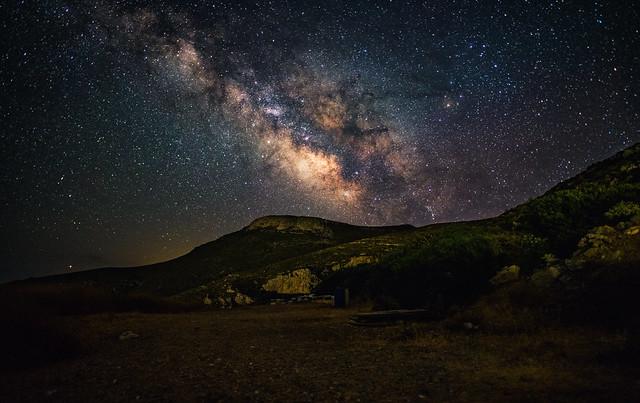 Milky Way in Kythira