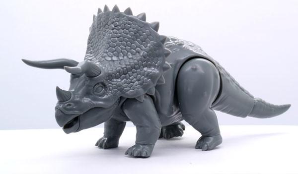 FUJIMI 《自由研究系列 》第二彈 「恐龍篇 三角龍」組裝模型作品!自由研究シリーズ No.2 きょうりゅう編 トリケラトプス プラモデル