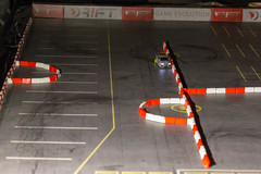 DRIFT Game Evolution RC car and course made for drifting