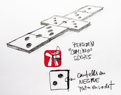 Primer esbós disseny Sèrie DOMINO.