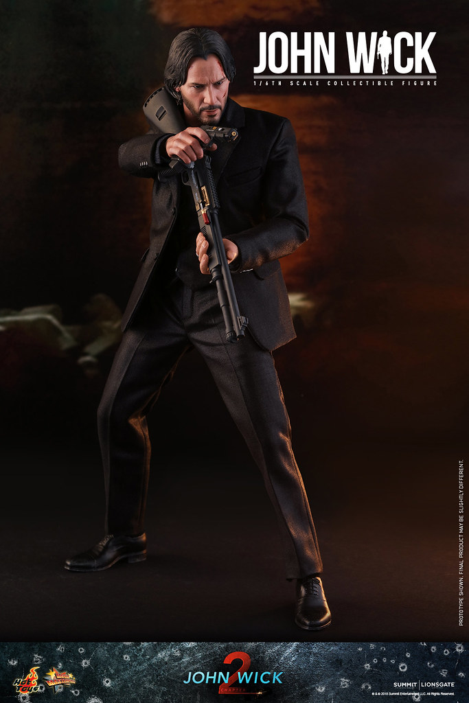 Hot Toys John Wick: Chapter 2 - 1/6 Scale Collectible Figure