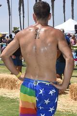 Gay America Shorts Backside