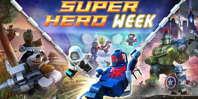 Super Hero Week Is Here!