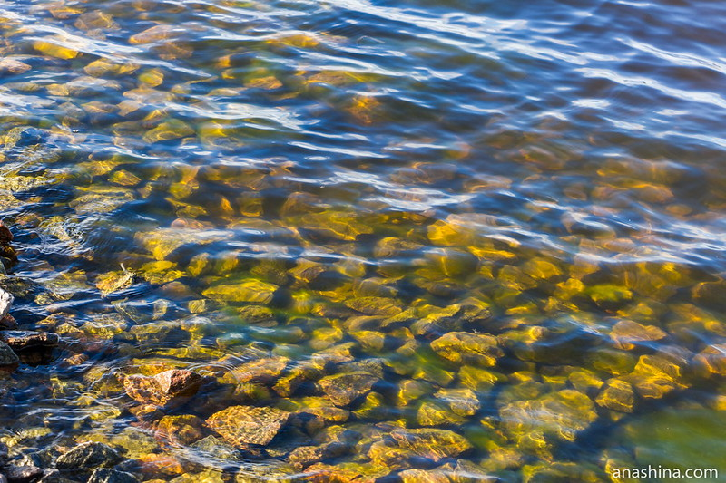 Прозрачная ладожская вода
