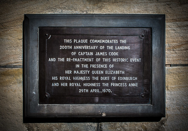 Plaque on Captain Cook, Canon EOS 650D, Canon EF-S 18-55mm f/3.5-5.6 IS II