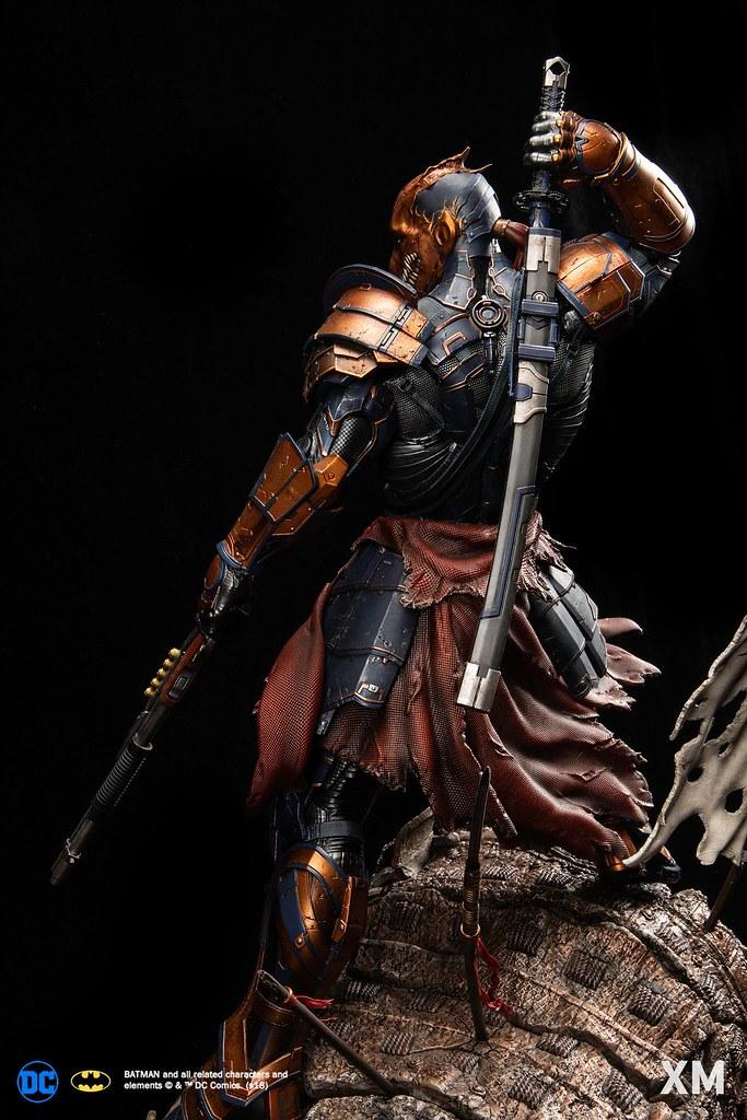 「販售資訊更新!」帥成這樣真的不要緊嗎?! XM Studios DC Premium Collectibles 系列【喪鐘】Deathstroke 1/4 比例全身雕像作品