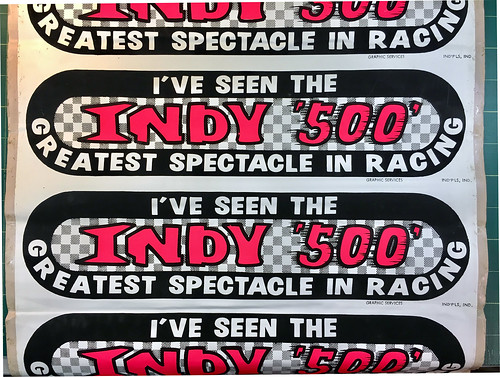 Indy 500 Bumper Stickers