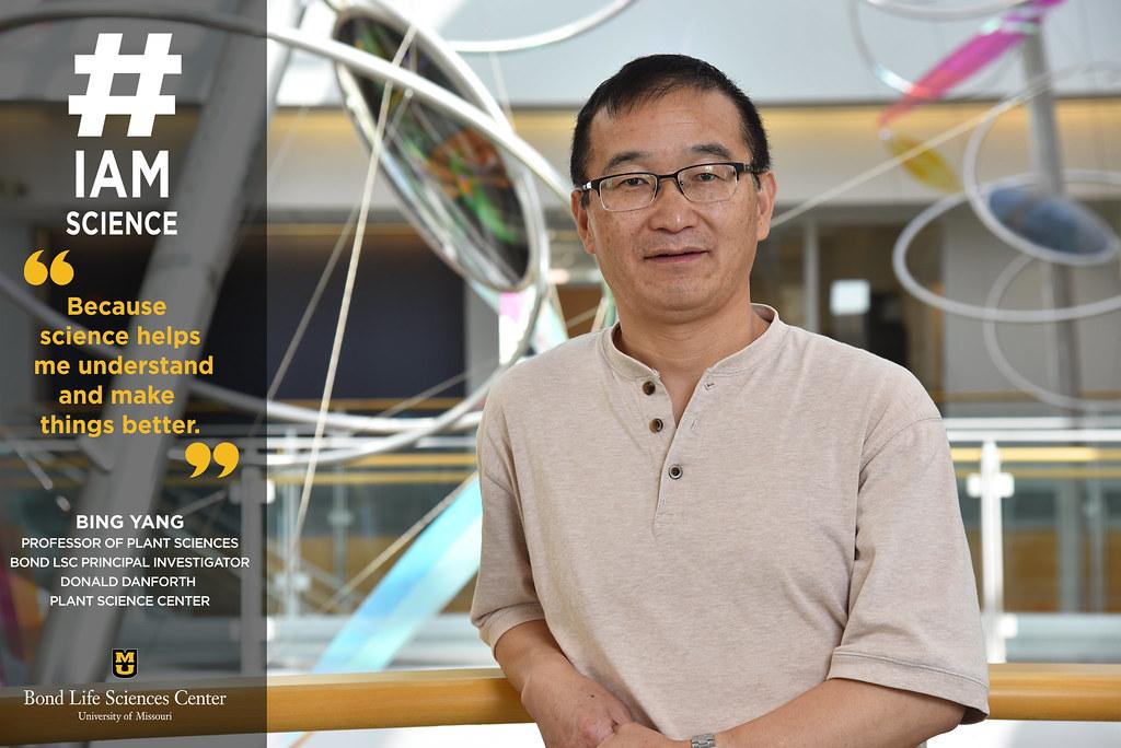#IAmScience Bing Yang