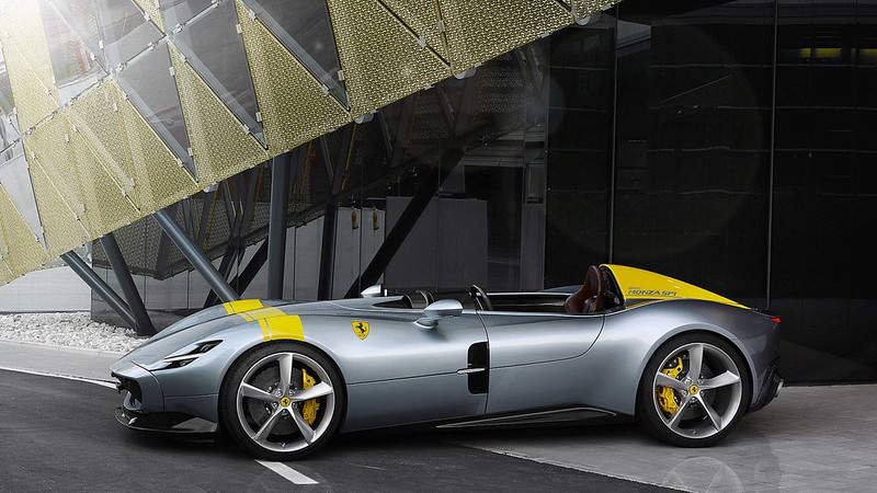 Ferrari Shows Their Limited Edition Monza SP1 And SP2 Speedsters carbonoctane