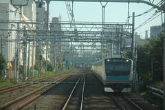 Keihin-Tōhoku line non-station shots