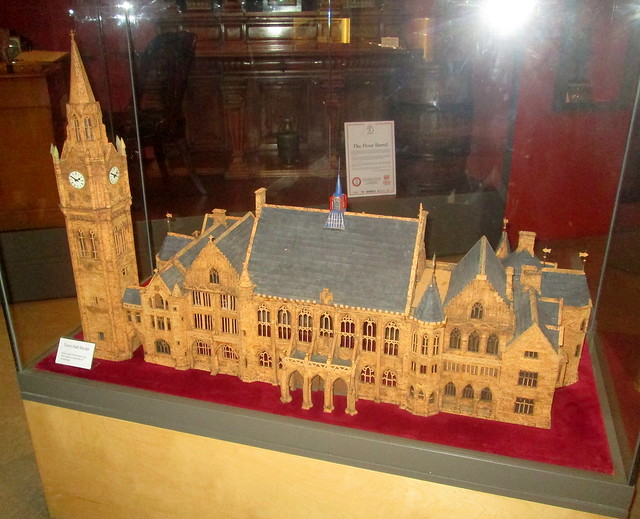 Model of Rochdale Town Hall