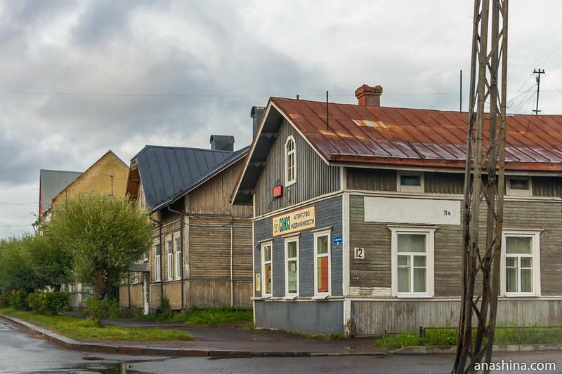 Старинные деревянные дома, Сортавала
