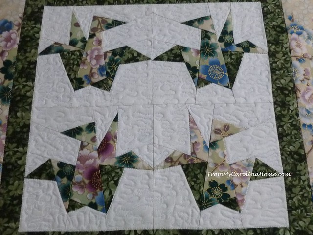 Quilting Orizuru at From My Carolina Home