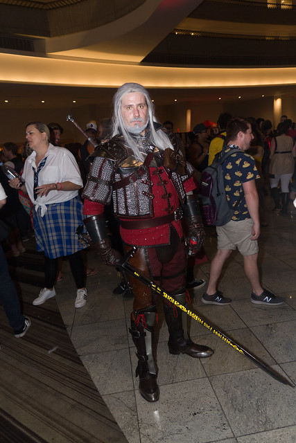 Geralt from The Witcher, Canon EOS 60D, Sigma 17-70mm f/2.8-4.5 DC Macro