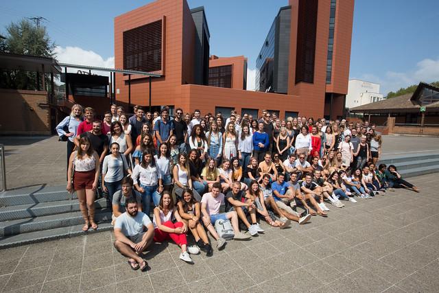 04/09/2018 - Jornada de bienvenida a estudiantes internacionales en el campus de San Sebastián