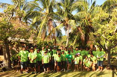 Hawaiian Electric at Trust for Public Land's Kaala Farms Work Day – August 18, 2018: Our Hawaiian Electric crew!