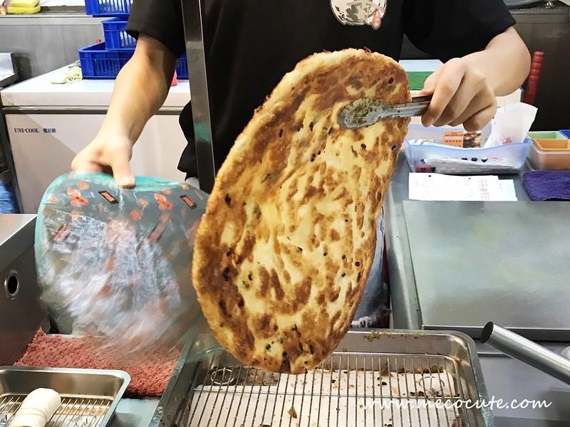 三和夜市丹丹香蔥油餅,三重小吃,三重美食 @陳小可的吃喝玩樂
