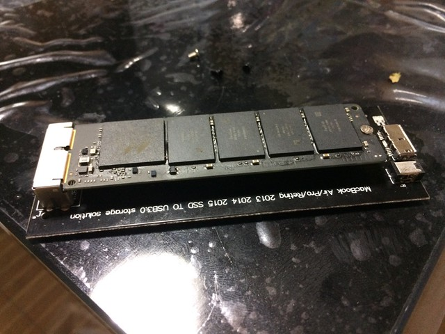 rescue DETA from MacBook Air SSD