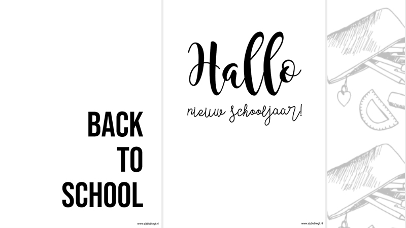 Gratis download: Back to school posters