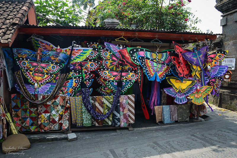 Indonesia | Ubud - Kite Shop