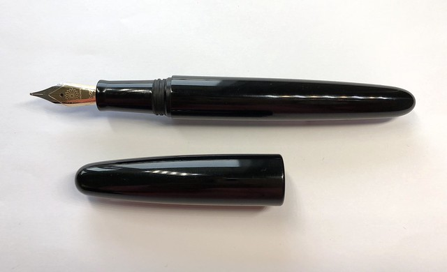 @Wancher Dream Pen True Ebonite Fountain Pen Review 14