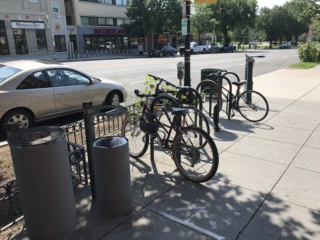 North Wisconsin Avenue Bike Rack Needs