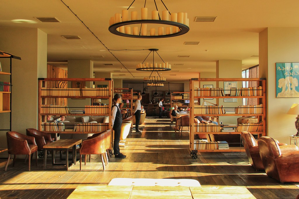 Restaurant and bar, Rooms Hotel Kazbegi