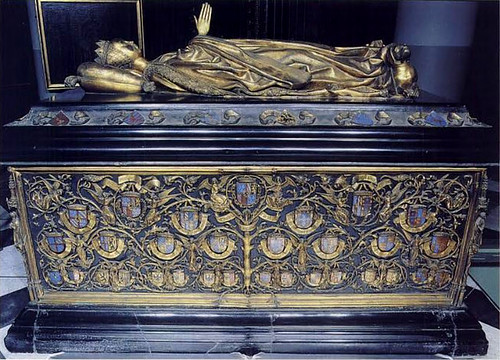 Tomb of Mary of Burgundy, 1488 - 1501, Notre Dame, Bruges