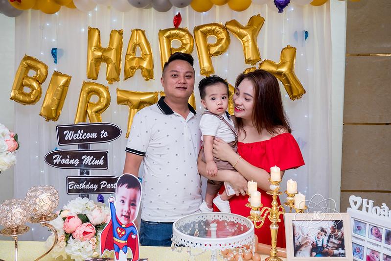 Tiệc chúc mừng sinh nhật bé trai Hoàng Minh siêu cute
