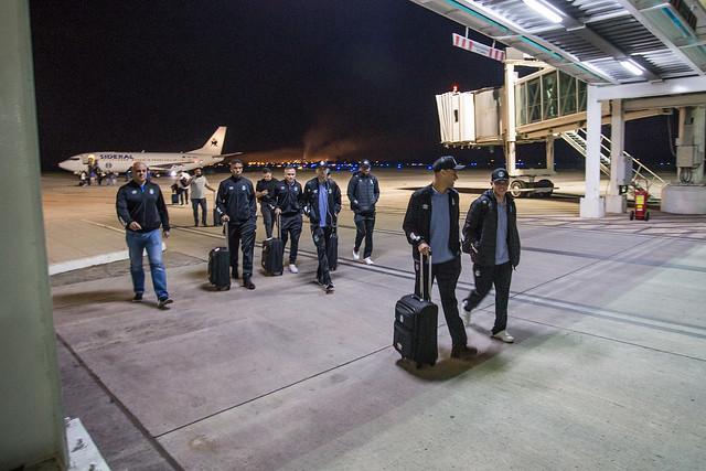 Chegada Grêmio em Tucumán 16/09/18