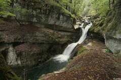 Guy et la Cascade du bout du monde du canyon de Malvaux   - Foncine le bas - Jura