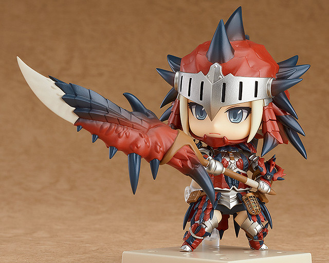Nendoroid Hunter: Female Rathalos Armor Edition from Monster Hunter: World