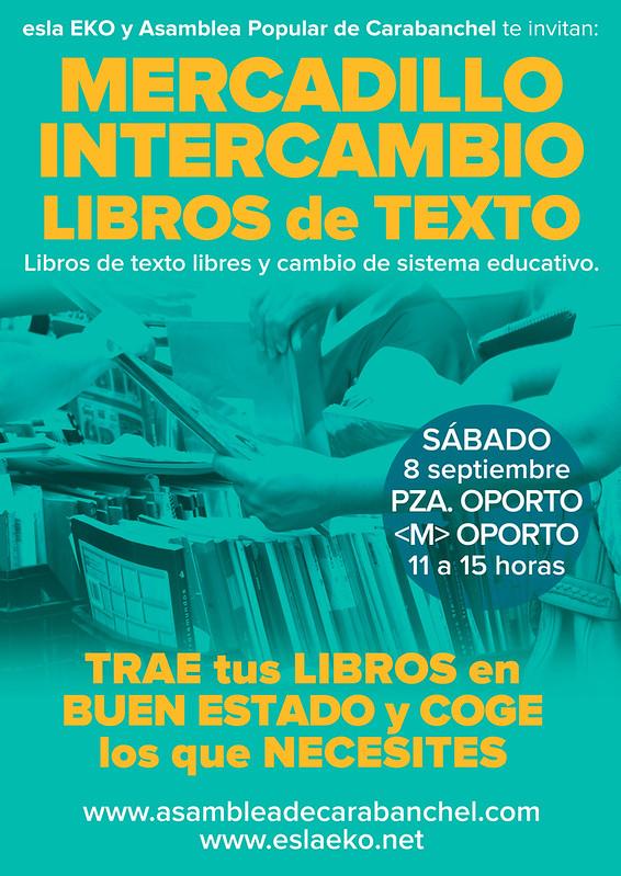 Cartel_MercadilloIntercambio_libros_8sep18