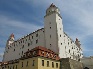 Bratislava Castle from up close