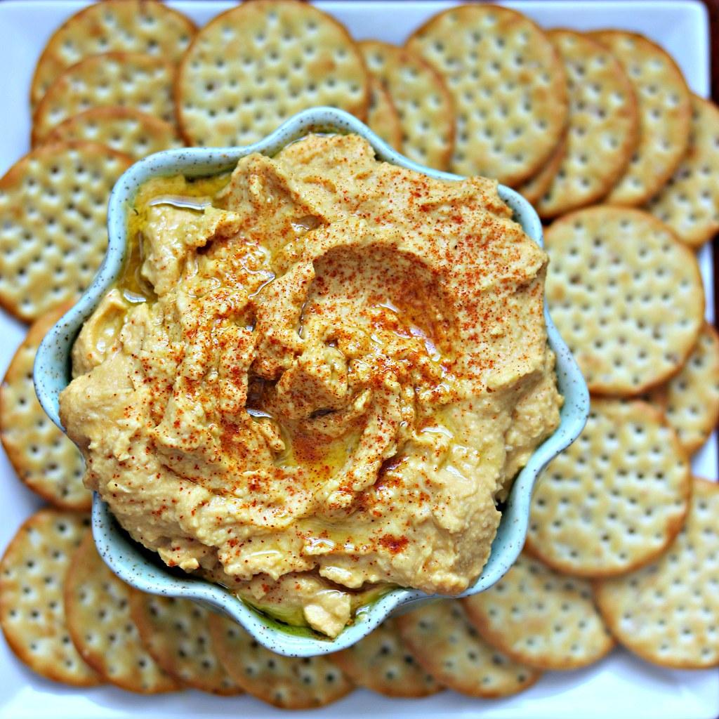Pumpkin Hummus Sq