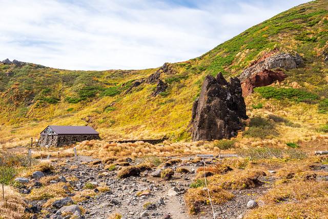 不動平の避難小屋